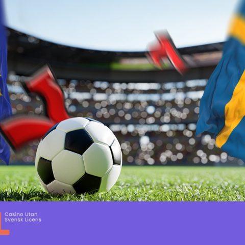 Fotbolls EM och Spelbolag utan svensk licens